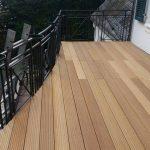 Neuer Terrassenbelag mit Rundschnitt in Wuppertal 1 v 3