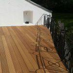 Neuer Terrassenbelag mit Rundschnitt in Wuppertal 3 v 3